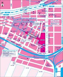 神戸ルミナリエ2006〜順路と交通規制.jpg