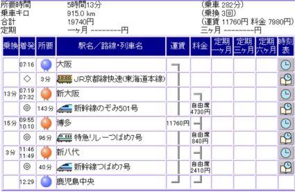 大阪⇒鹿児島中央(新幹線).jpg
